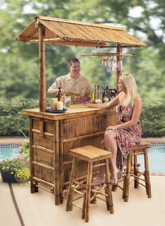4 Fun Facts About Tiki Bars Outdoor Bar