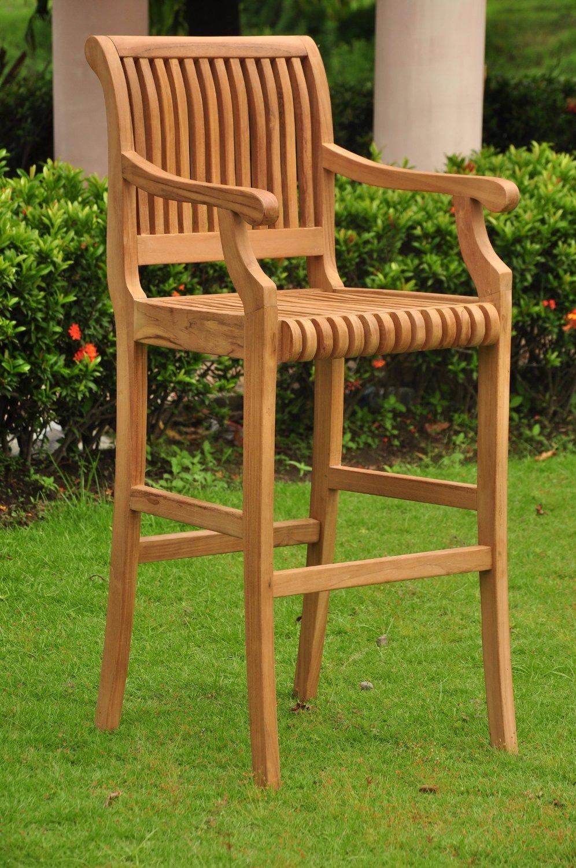 Grade A Teak Bar Chair