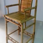 Tahiti bamboo stool
